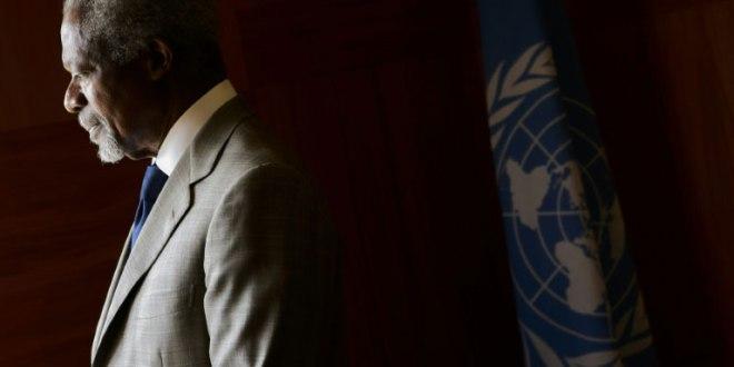 Kofi Annan, en février 2012.