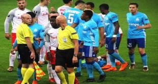 FC Salzburg vs Olympique Marseille, 03 Mai 2018.