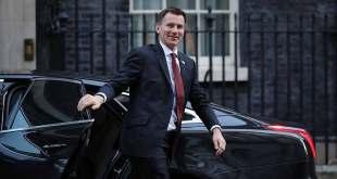 Jeremy Hunt, chef de la diplomatie britannique.