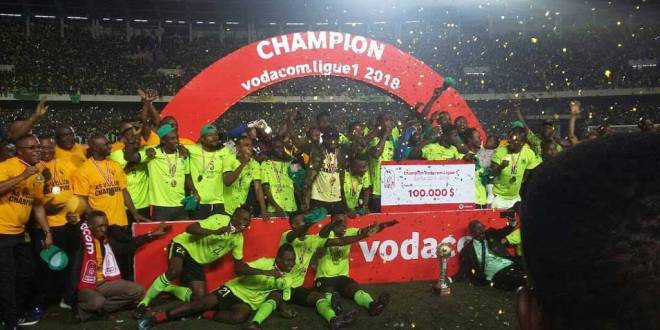 AS Vita Club Champion Vodacom Ligue 1 2018