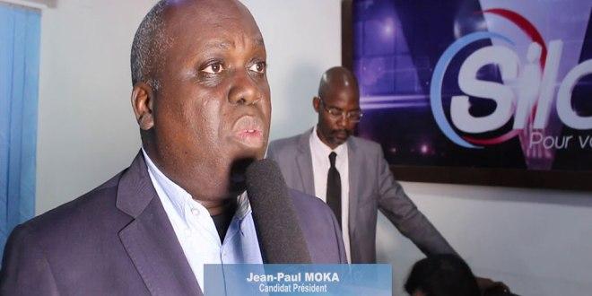 Jean Paul MOKA, candidat présidentielle 2018 RDC