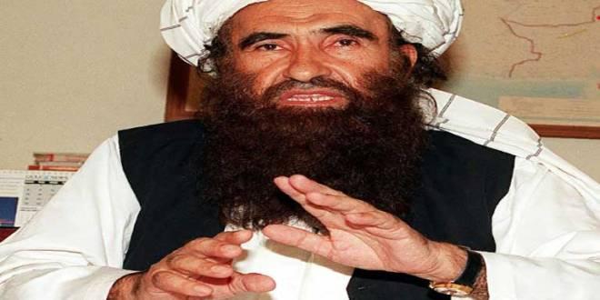 Jalaluddin HAQQANI lors d'une rencontre avec la presse à Islamabad, le 19 octobre 2001.