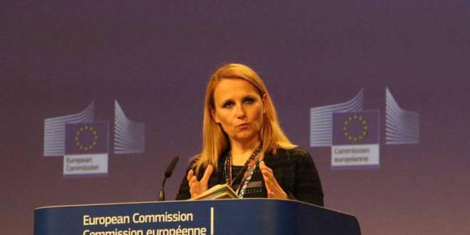Maja Kocijancic, porte-parole de l'Union Europeenne (UE).