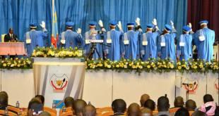 Prestation de serment des membres de la Cour constitutionnelle de RDC.