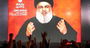 Hassan Nasrallah [portrait], leader de Hezbollah.