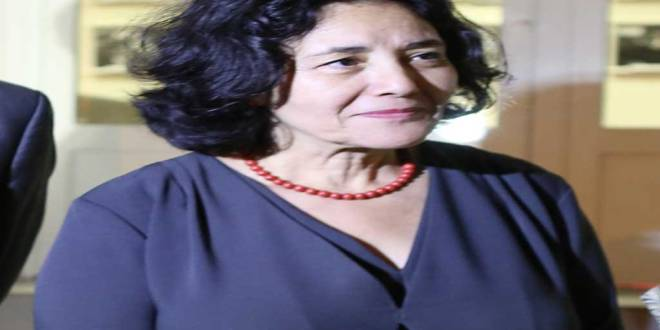 Leila Zerrougui , patronne de la MONUSCO.