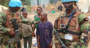 MONUSCO - des soldats de Malawi, Est-RDC.