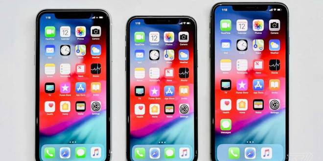 iPhone XS, XS Max et XR