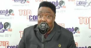 """Joseph OLENGHANKOY, lors d'une émission sur """"Top Congo FM"""""""