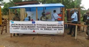 Centre de traitement Ebola de l'hôpital de Beni