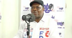 Jean-Pierre LISANGA BONGANGA, ministre d'État en charge des Relations avec le Parlement, en RDC.