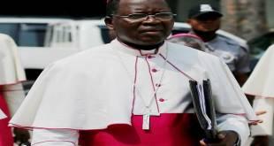 Mgr Marcel UTEMBI TAPA, Archevêque de Kisangani, Président de la CENCO.