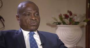 Screenshot: Martin FAYULU talking to Aljazeera