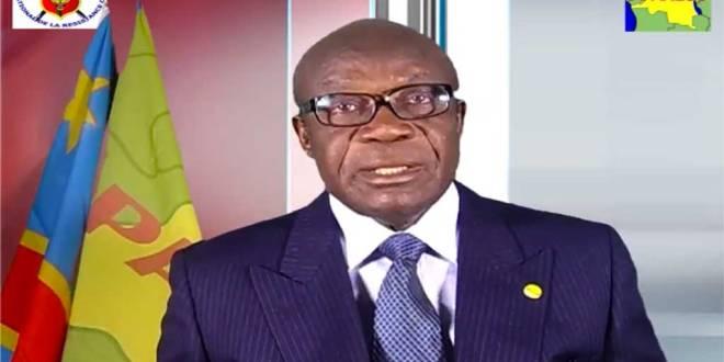 Honoré Ngbanda-Nzambo Ko Atumba, president de l'Apareco. Screenshot by kongotimes.
