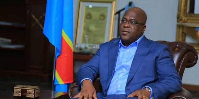 Fatshi - President de la RDC lors d'une audience avec le président de la CNSA.