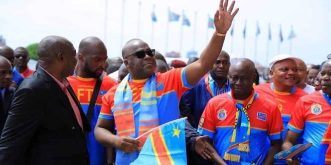 Fatshi au Stade des Martyrs de Kinshasa, 24 Mars 2019.