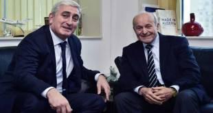 Issad Rebrab [droite], Fondateur et Président du Conseil d'Administration du Groupe Cevital.