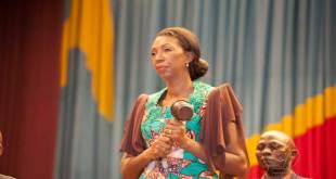 Jeanine Mabunda Lioko Mudiayi, presidente de l'Assemblee Nationale de la RDC.