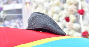 Un beret sur le cercueil d'Etienne TSHISEKEDI, 31 mai 2019, Stade de Marthyrs, Kinshasa.