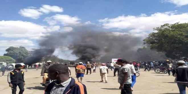 Affrontement entre les Combattants de l'UDPS et du PPRD, a Lubumbashi.
