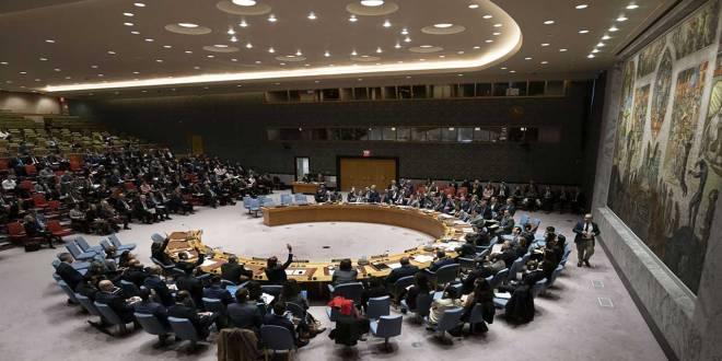Conseil de sécurité des Nations Unis en réunion, Novembre 2018.