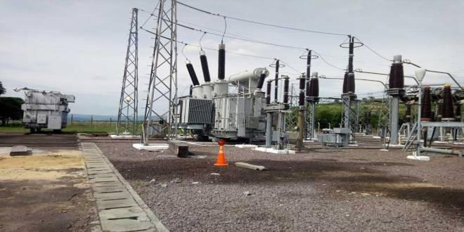 Les installations de la SNEL (Société nationale d'électricité) de la RDC.