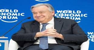 Antonio Guterres, Davos, World Economic Forum 2019.