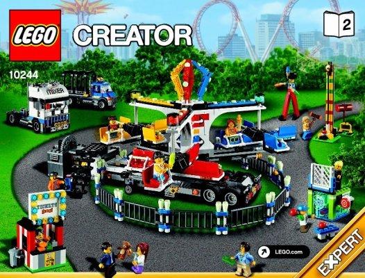 Notice Instructions De Montage LEGO Creator 10244