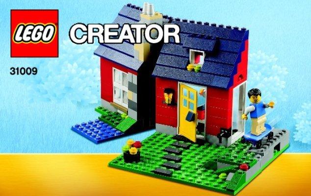 Notice Instructions De Montage LEGO Creator 31009