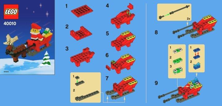 notice instructions de montage lego