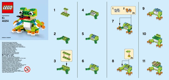 lego monthly mini build july