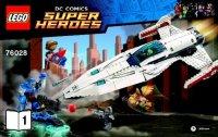 Notice / Instructions de Montage - LEGO - 76028 - Darkseid ...