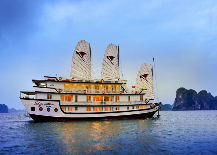 baie d'Halong - Signature Halong Cruise