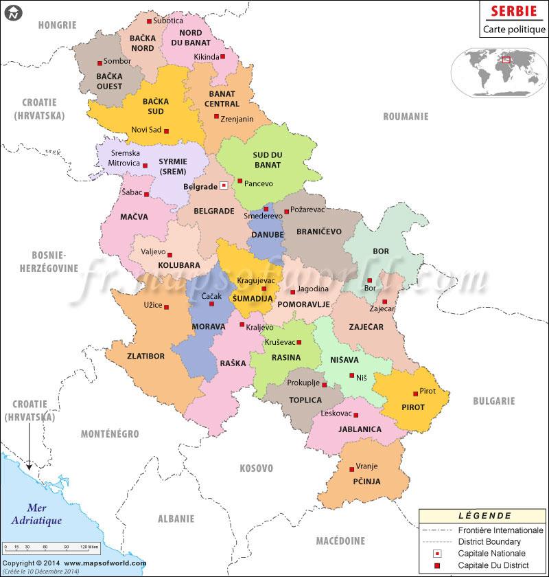 """Résultat de recherche d'images pour """"serbie carte"""""""