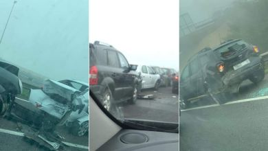 Photo of Un terrible accident sur l'autoroute Casablanca-Mohammedia (Photos)