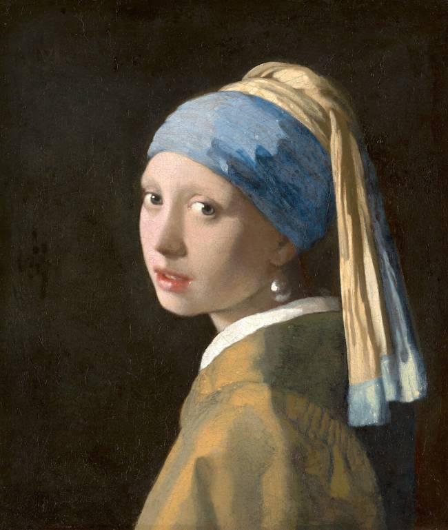 La Jeune Fille à La Perle Tableau : jeune, fille, perle, tableau, Jeune, Fille, Perle, Johannes, Vermeer, Reproduction, D'art, Gamme
