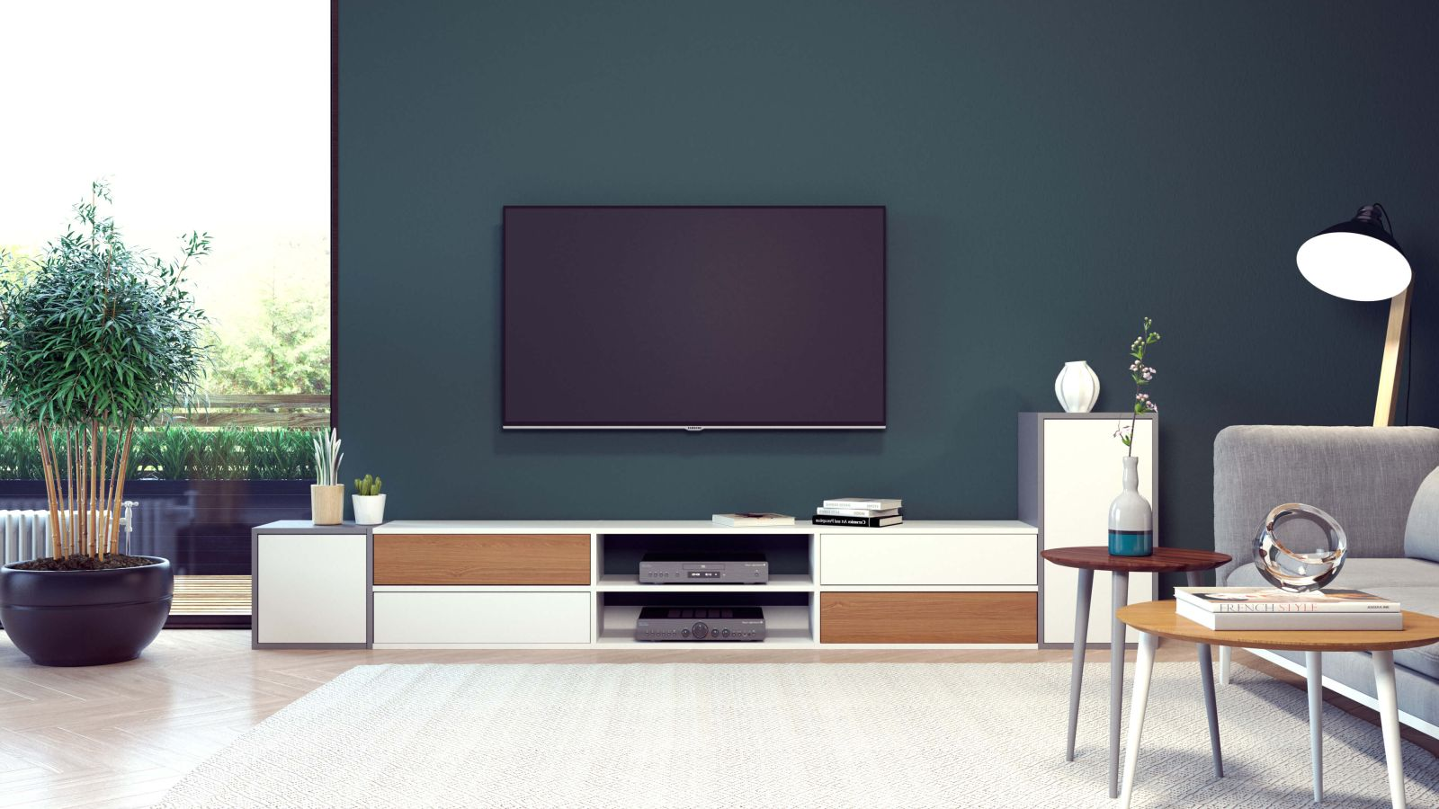 meuble tv personnalisable armoires