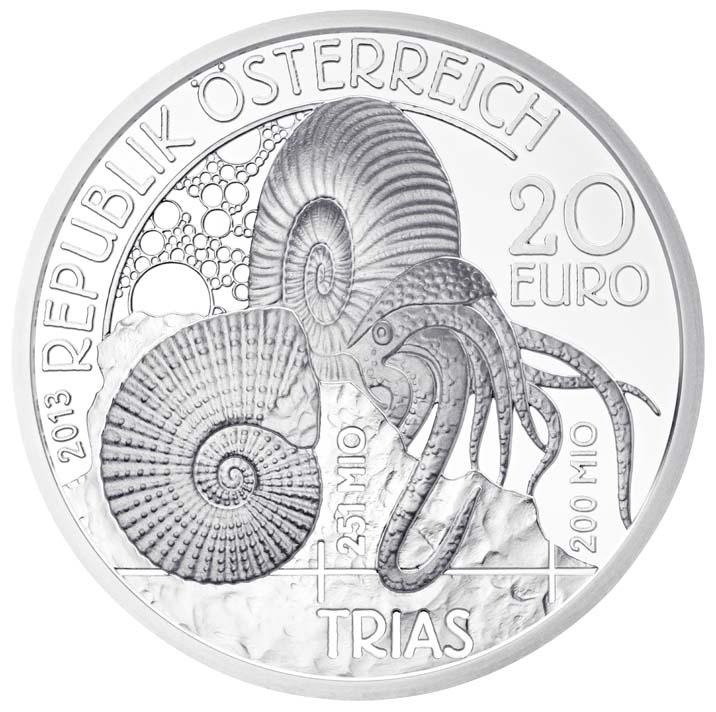 20 euros Le trias - Autriche