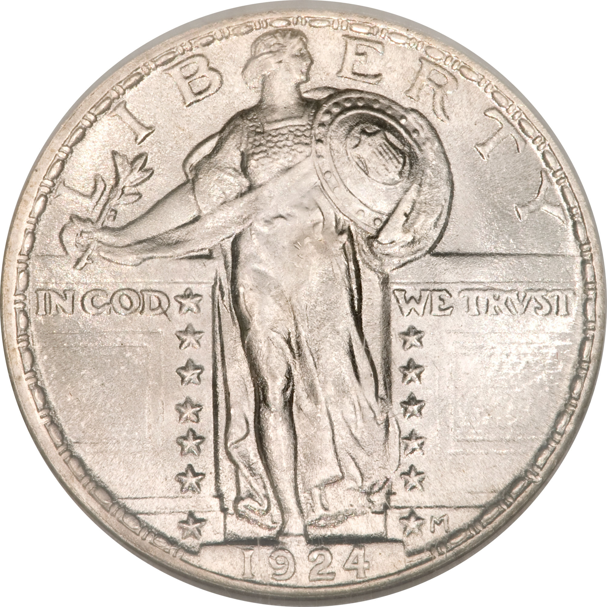 25 Cents Standing Liberty Quarter 2nd Type