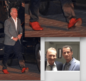Red shoes maher