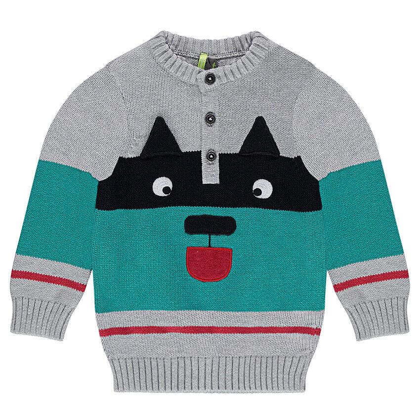 Pull en tricot avec motif animal en jacquard  Orchestra FR