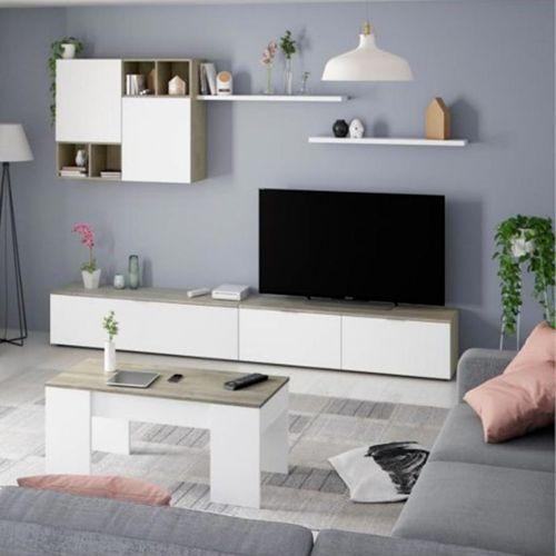 achat ensemble meuble tv mural pas cher