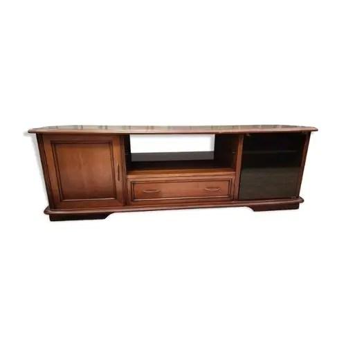 achat meuble tv merisier pas cher