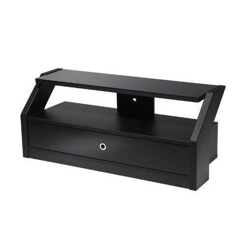 achat meuble tv noir laque pas cher