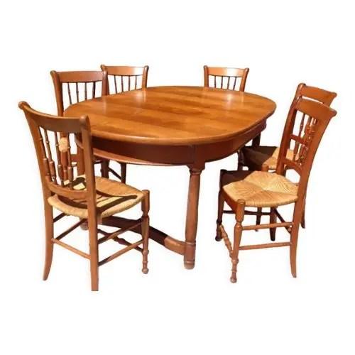 achat table avec 6 chaises pas cher