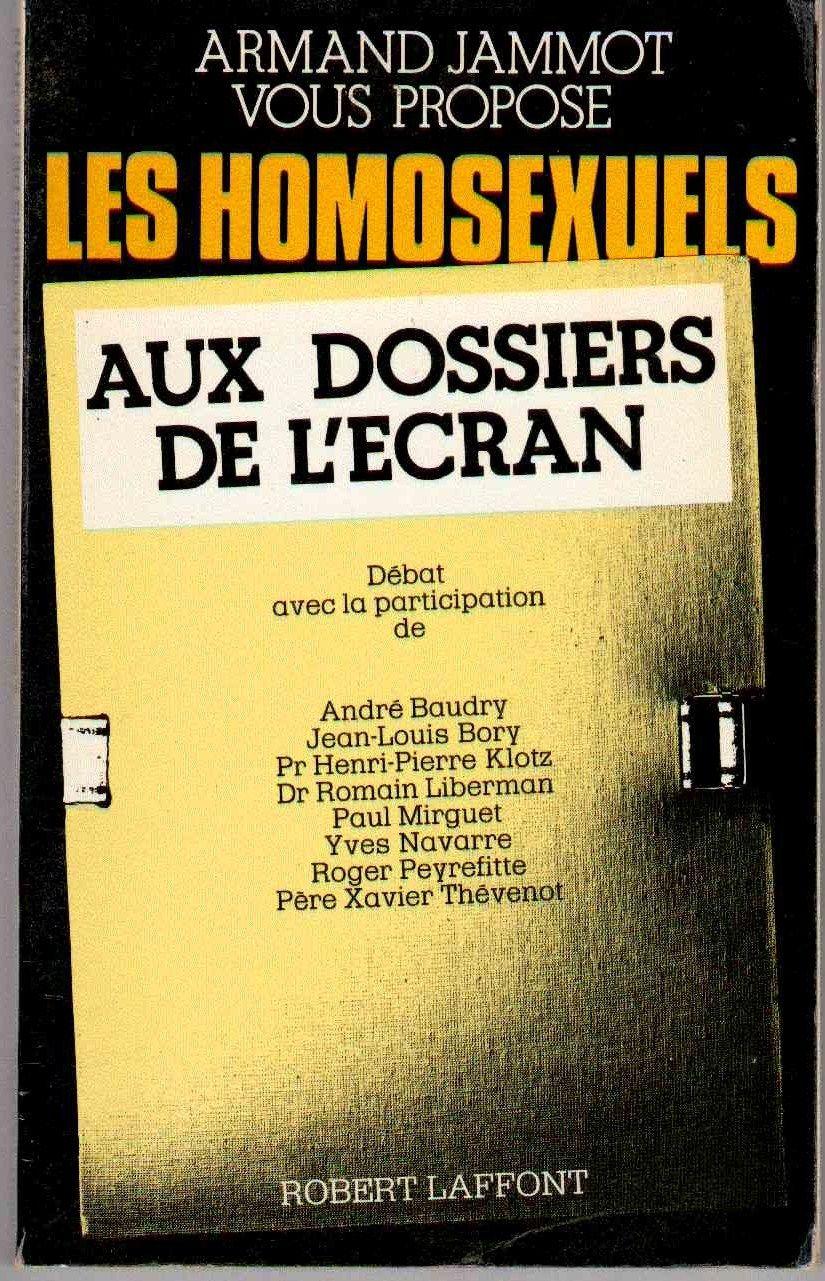 Les Dossiers De L Ecran : dossiers, ecran, Homosexuels, Dossiers, L'ecran, Histoire,, Actualité,, Politique, Rakuten