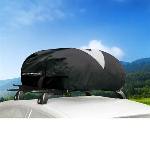 coffre de toit souple 270 litres green valley sherpack pliable