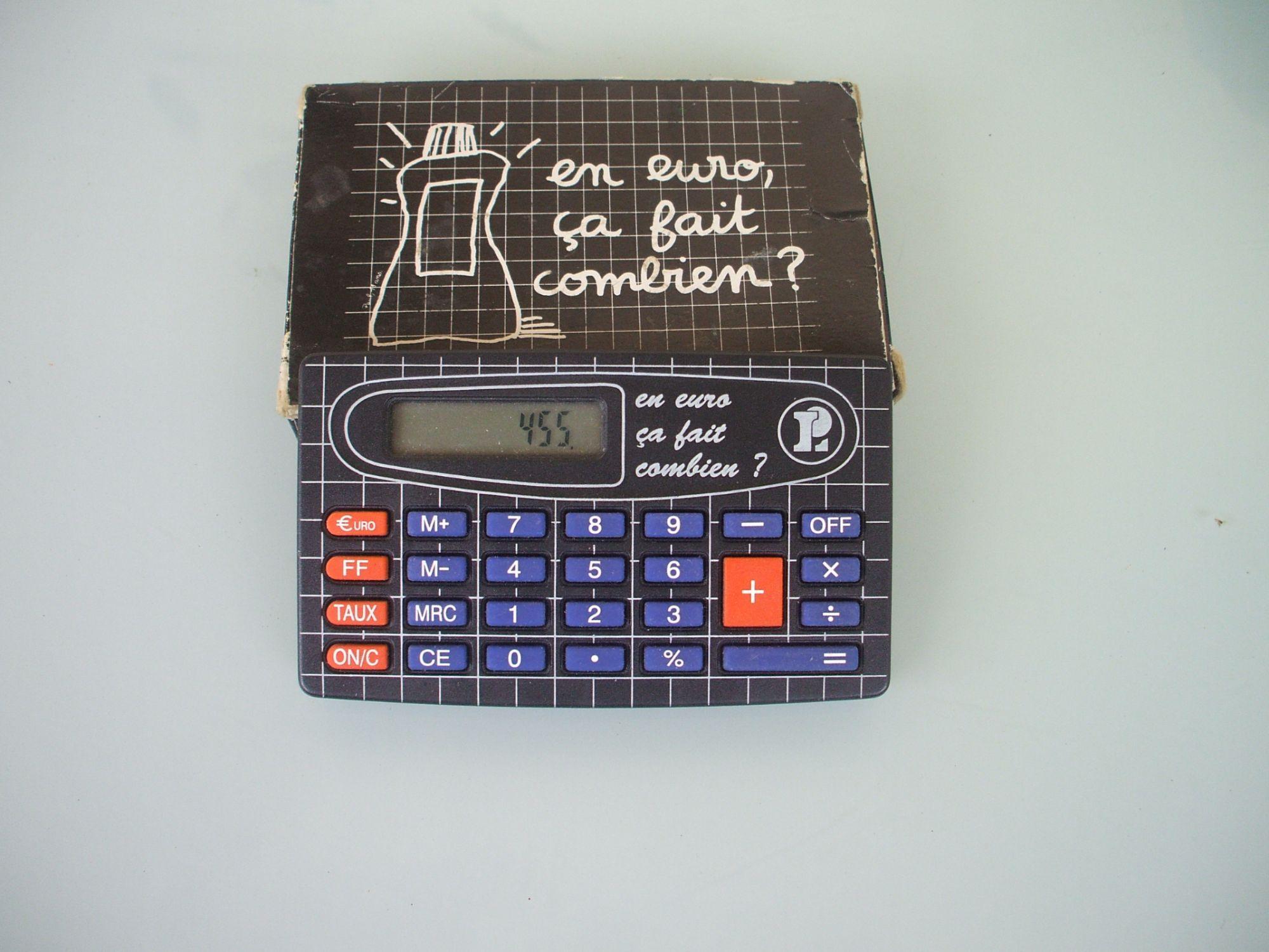 calculatrice euroka euro francs leclerc