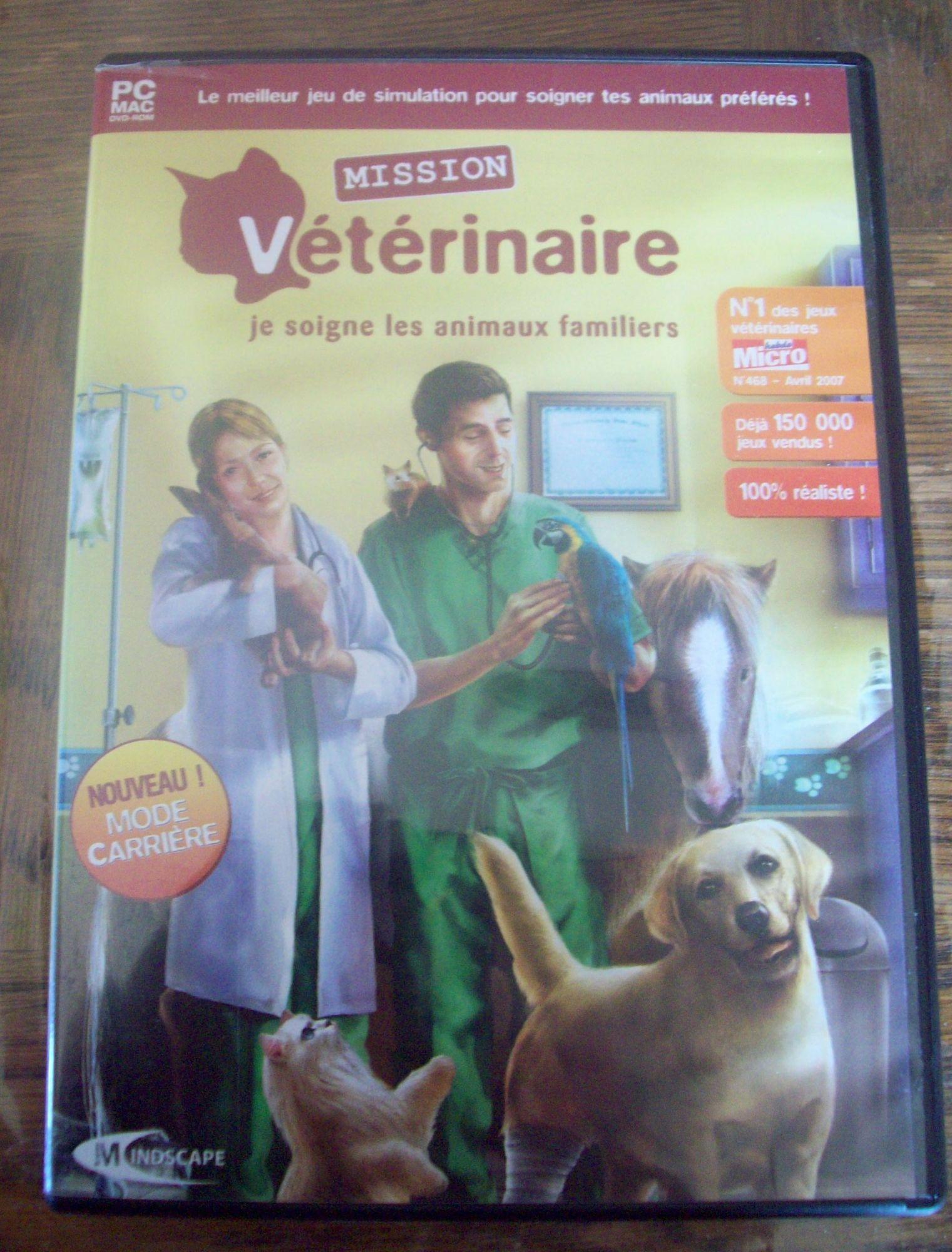 Jeux Pour Soigner Les Animaux : soigner, animaux, Mission, Veterinaire, Soigne, Animaux, Familiers, Rakuten