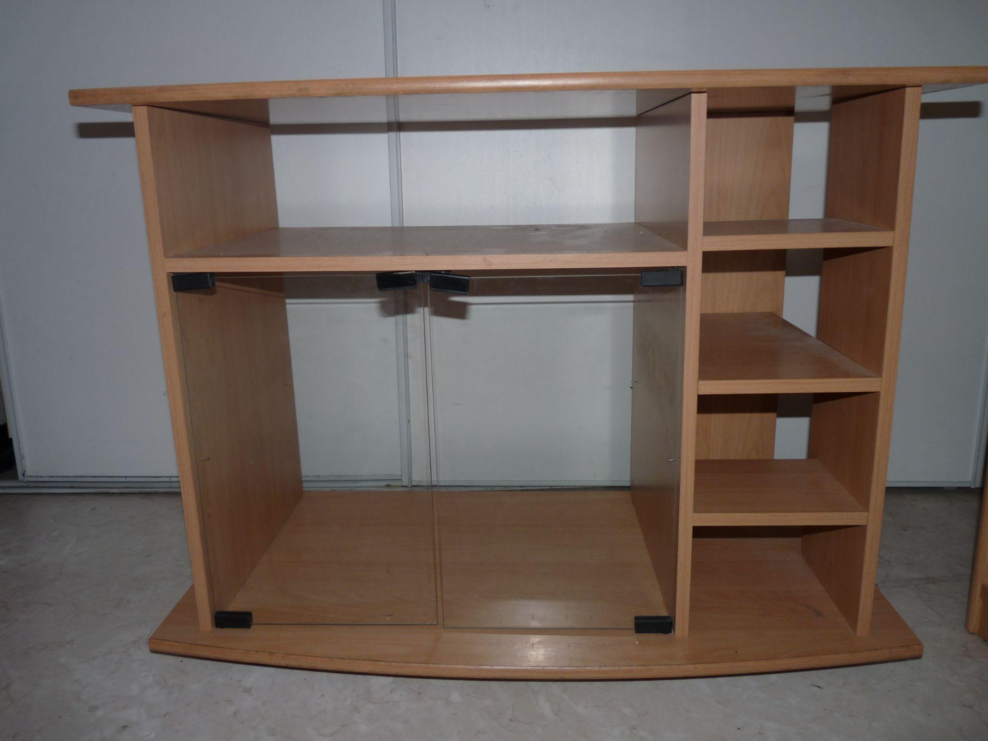 meuble pour tv avec rangement pour chaine hifi